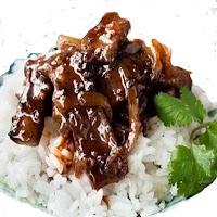 Ayam Saus Lada Hitam plus Nasi