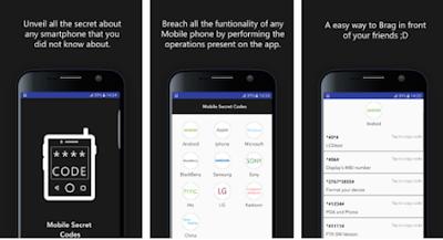 Aplikasi Kode Rahasia Android