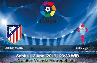 Prediksi Atletico Madrid vs Celta Vigo 13 April 2019