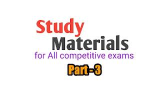 study materials for all West Bengal job examinations