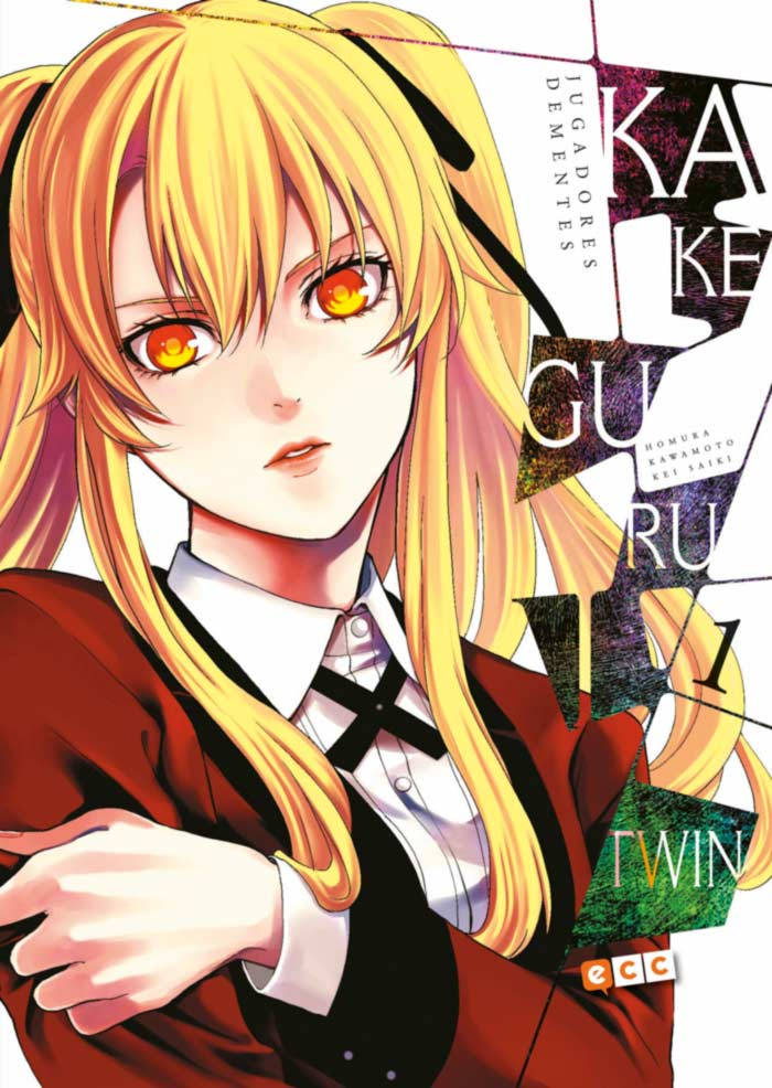 Kakegurui Twin #1 - Homura Kawamoto y Katsura Saiki - ECC Ediciones