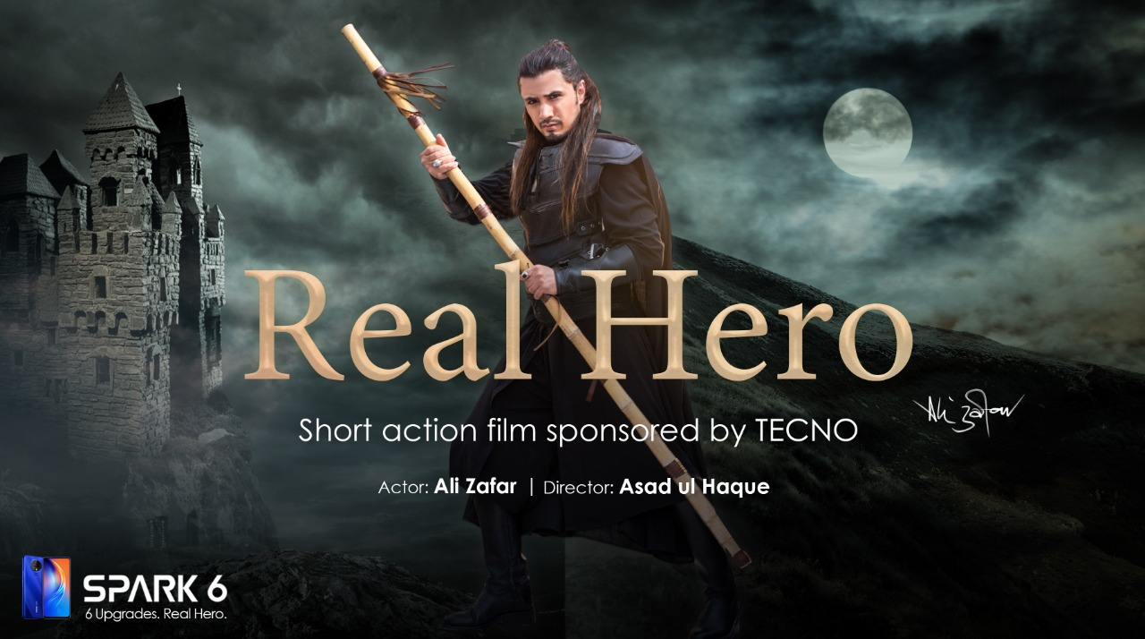 "TECNO ""REAL HERO"" Spark 6 with Heroic theme is"