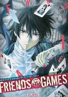 Actu Manga, Critique Manga, Friends & Games, Manga, Mikoto Yamaguchi, Seinen, Soleil Manga,