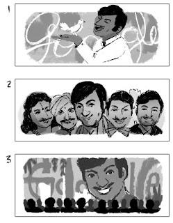 Rajkumar,google doodle,superstar,google,rajkumar doodle,kannada superstar,Arightguide
