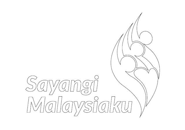 Logo Sayangi Malaysiaku - Merdeka Tahun 2018