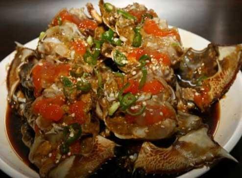 Makanan Korea - Kepiting Saus Kecap Asin