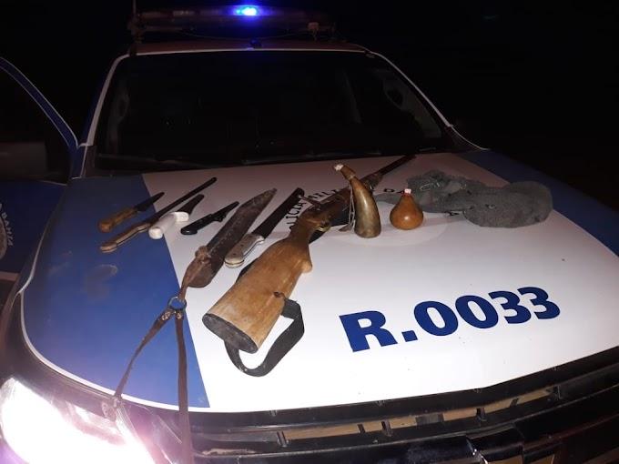 24ª CIPM aprende armas na região de Mirangaba
