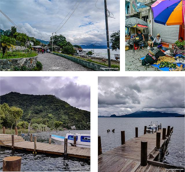 Povoados do Lago de Atitlán, Guatemala