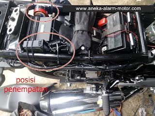 Cara Pasang Alarm Motor Inazuma 250cc