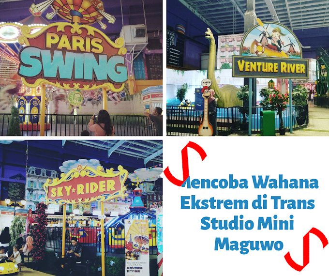 Mencoba Wahana Atraktif dan Edukatif di Trans Studio Mini Maguwo Jogja
