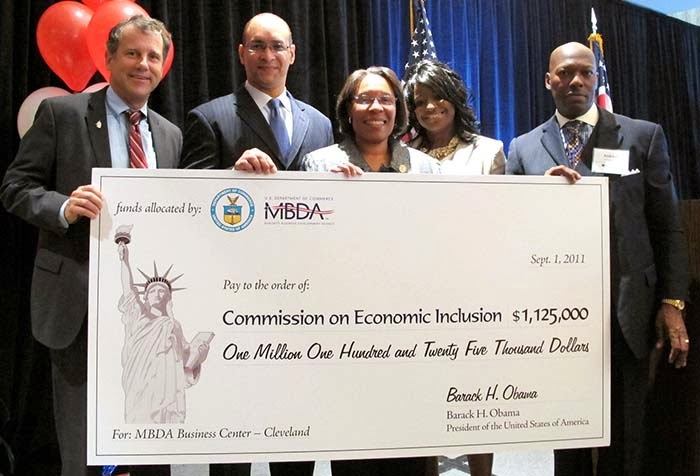 MBDA Center in Cleveland Receives Donation