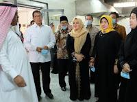 Menko PMK, Menag dan Menkes Cek Kesiapan Fasilitas Haji Indonesia