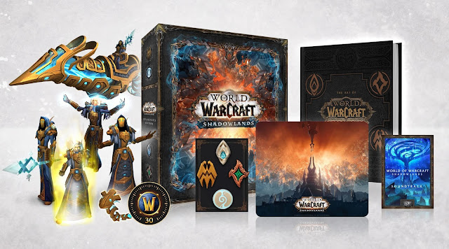 Learn more about the World of Warcraft: Shadowlands Collector's Edition