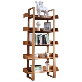 Design rak lemari buku minimalis model 2