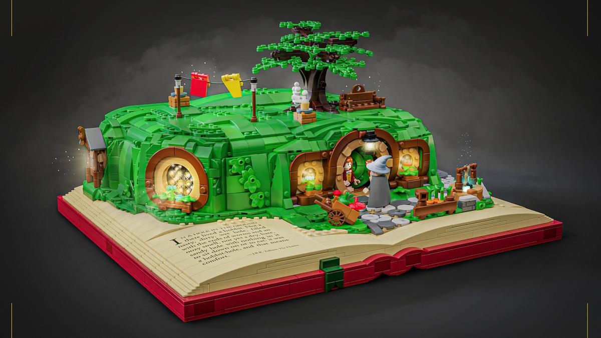 ホビットの穴(袋小路屋敷:Bag End)がレゴ(LEGO)アイデア製品化レビュー進出!2020年第3回1万サポート獲得デザイン紹介
