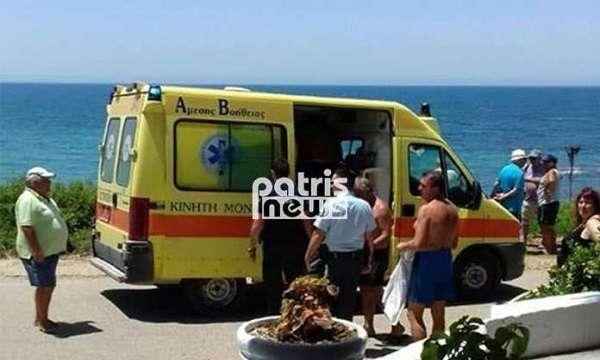 Γιατρός και νοσηλευτής τού έσωσαν τη ζωή στην παραλία