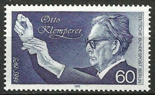Germany Berlin 1985 Music Birth Centenary Conductor Otto Klemperer