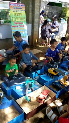 Miniatur Excavator Permainan Terbaik Edukasi Anak