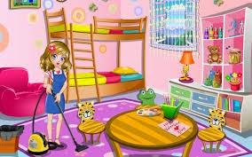 لعبة تنظيف و ترتيب غرف المنزل