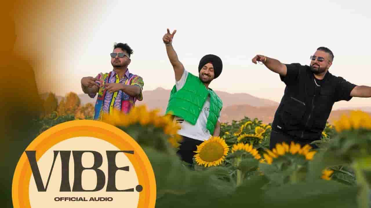 वाइब Vibe lyrics in Hindi Diljit Dosanjh Moonchild era Punjabi Song