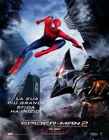 The Amazing Spider-Man 2 2014 Hindi Dual Audio 750MB BluRay 720p ESubs HEVC