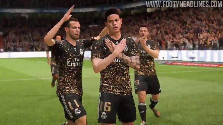 Spectacular Adidas Real Madrid 19-20 EA Sports Fourth Kit ...