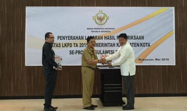 Palopo Raih WTP, DPRD Apresiasi Kinerja Pemkot