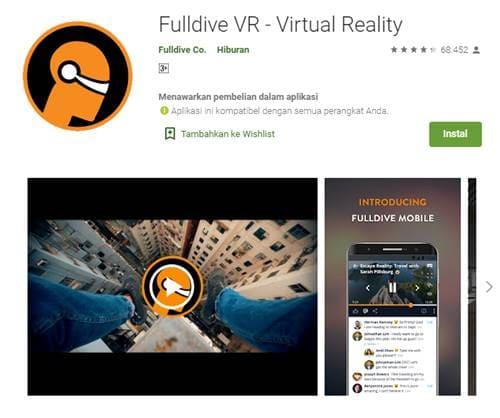 Aplikasi Virtual Reality (VR) Terbaik Untuk Android