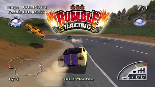 Kode Cheat Rumble Racing PlayStation 2