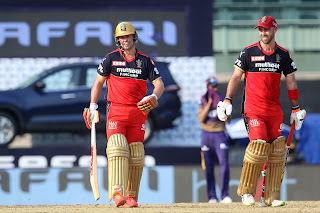RCB vs KKR 10th Match IPL 2021 Highlights