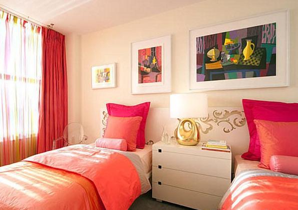 Dormitorios coral dormitorios colores y estilos for Jugendzimmer colours
