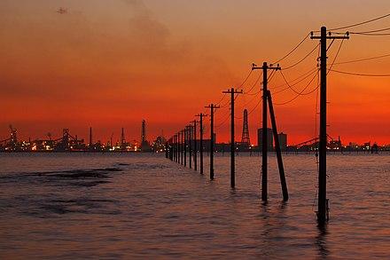 【夜景】千葉県木更津市の江川海岸は外せないスポットです
