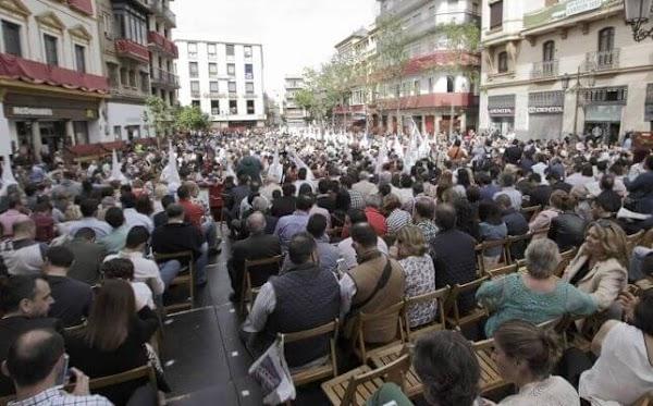 La Junta tumba la denuncia de Facua en Sevilla: «Las procesiones no son un espectáculo público»