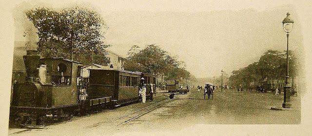 Tuyến đường sắt chạy qua đại lộ Charner
