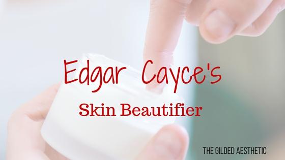 edgar cayce skin