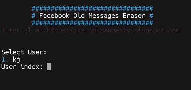 Cara Menghapus Semua Pesan Lama Pada Akun Facebook