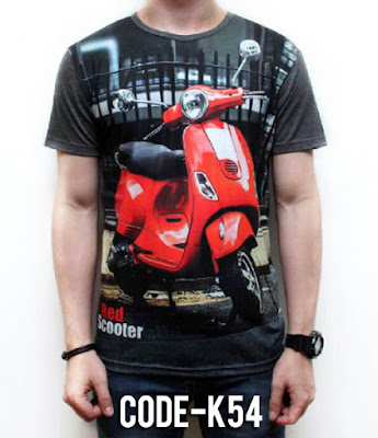 Kaos Red Scooter