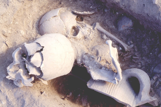 14th-century Byzantine warrior with gold-threaded jaw unearthed in Greece