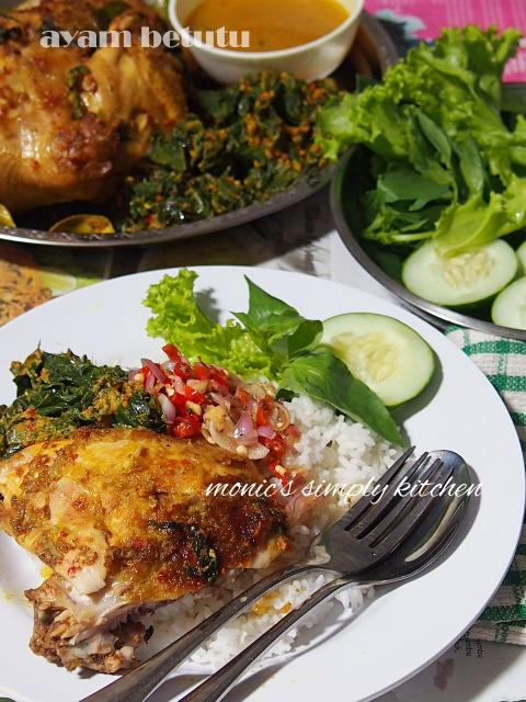 Resep Ayam Betutu Bali : resep, betutu, Betutu, Monic's, Simply, Kitchen