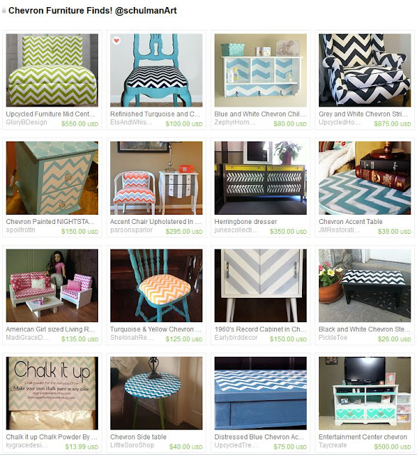 chevron decorating ideas