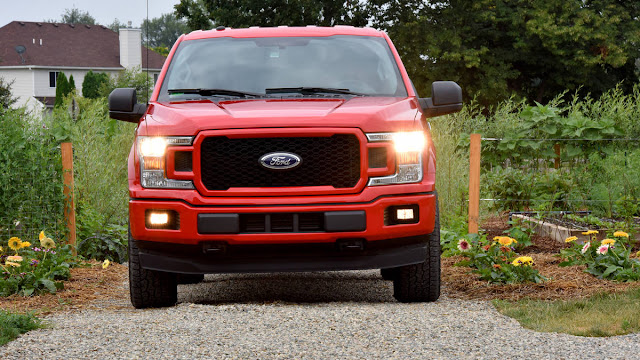 2018 All new Ford F-150 more comfortable front view