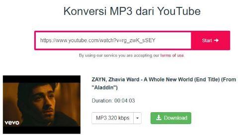 download lagu youtube ke mp3