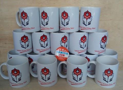 Mug Digital / sablon printing / promosi minimum pemesanan Tidak Ada!
