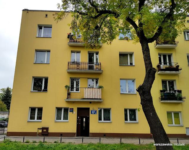 Warszawa Warsaw Targówek Fabryczny kamienica przedwojenna architektura architecture balustrada