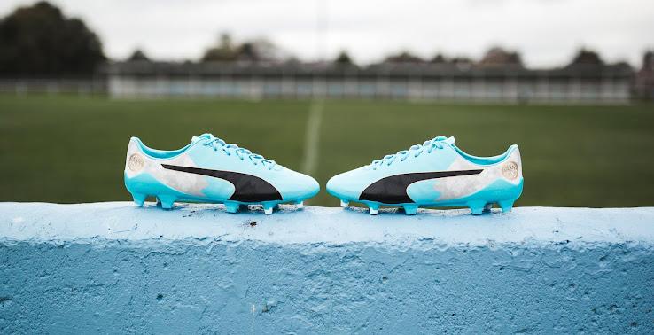 4a54860ae5505 Puma evoSPEED Kun Agüero Signature Boots Released - Footy Headlines
