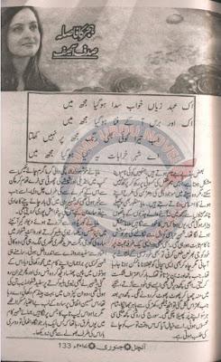 Hijar ka fasla novel by Sadaf Asif pdf