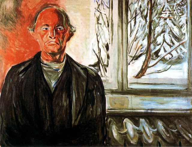 Эдвард Мунк - У окна. 1940