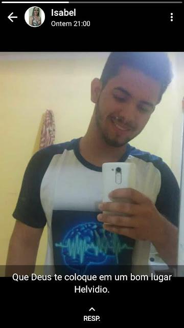 CALDEIRÃO GRANDE-Morte de jovem de 17 anos comove a população de Caldeirão Grande