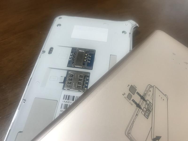 どんなときもWiFiのSIMカードは2種類対応なので、海外SIMを使いたい