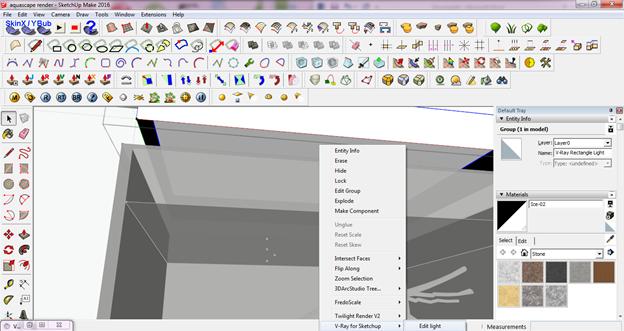 Rendering aquascape dengan menggunakan v ray rendering Online rendering tool